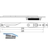IMH-ABS Mitnehmerhaken GF UNI 24 V Gr.1, 225 x 24 mm,schwarz verzinkt,DIN rechts