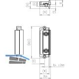 Austauschstücke Falzluft 11 mm, Eurofalz 20 mm