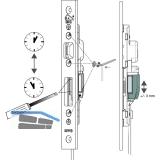 Riegelschaltkontakt inkl. 6 Meter Kabel