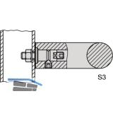 KWS Befestigungszubehör S3 - Stahl verz.