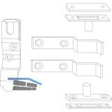 Ladenverschlusshaken MACO, Platzbedarf 15 mm (14000)