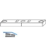 Schließteil f. Öffnungsbegrenzung, Falz 12 mm, Zinkdruckguß silberfärbig (54697)