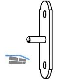 Stützplatte Rustico für Ladenhalter, schwarz (57054)