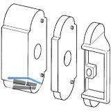 Unterlage MACO Rustico für Komfort-Ladenhalter, 20 mm (40377)