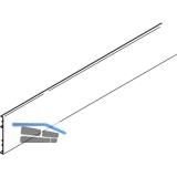 EKU DIVIDO 100 Clip-Blende zu Laufschiene, Länge 2500 mm, Aluminium eloxiert
