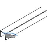 EKU DIVIDO 80 Einfachführungsschiene, Länge 2500 mm, Aluminium eloxiert
