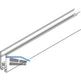 EKU DIVIDO Rahmenprofil horizontal, Länge 2500 mm, Aluminium eloxiert