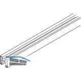 EKU DIVIDO Rahmenprofil vertikal, Länge 2500 mm, Aluminium eloxiert