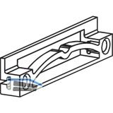 EKU REGAL - A 25 H/GR Zwischenstopper, Kunststoff grau