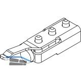 Schienenpuffer HAWA-Frontslide 60/A/B m. einstellbarer Rückhalterung