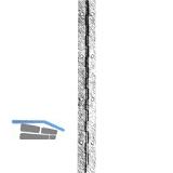 Stangenscharnier gebohrt 1740 x 32 mm, Stahl schwarz- brüniert