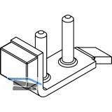 Stangenschloss-Schließplatte Silent Stop für HAWA Junior 80 verstell. verzinkt