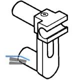 BLUM ORGA-LINE TANDEM Querrelinghalter für Relingstangen, 2 Relingstangen grau