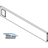 BLUM AMBIA-LINE Querteiler zu Schubkastenrahmen, B242 mm, KS Oriongrau
