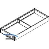 BLUM AMBIA-LINE Schubkastenrahmen breit, NL450mm, B200mm, Stahl Oriongrau