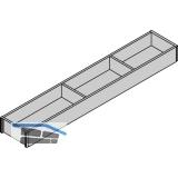 BLUM AMBIA-LINE Schubkastenrahmen schmal, NL600mm, B100mm, Bardolino Eiche