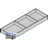 BLUM AMBIA-LINE Schubkastenrahmen breit, NL600mm, B200mm, Bardolino Eiche