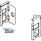 BLUM LEGRABOX Holzrückwandhalter H N,  Oriongrau-matt