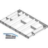 BLUM ORGA-LINE Komplettset für Universal KB 1000 mm, Nennlänge 450 mm