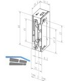Türöffner 118.13 ProFix2 10-24V AC/DC, ohne Schließblech