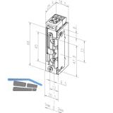 Türöffner 118.63 ProFix2 22-42V AC/DC, ohne Schließblech