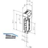Türöffner 143 Q 34, 12-24V, ohne Schließblech
