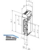 Türöffner 143.13 Q34, ProFix2 12-24V, ohne Schließblech