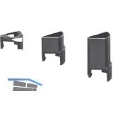 Stützelement zu Sockelversteller Integrato Höhe 24 mm, Kunststoff schwarz