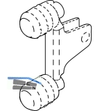 BLUM LEGRABOX Frontbefestigung Höhe M, Montageart: EXPANDO
