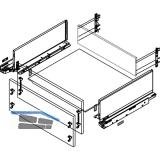 BLUM LEGRABOX pure SET H C, TIP-ON, 40kg, NL 270,  Oriongrau