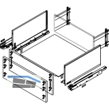 BLUM LEGRABOX pure SET H F, TIP-ON, 40kg, NL 450,  Oriongrau