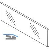 BLUM LEGRABOX Einschubelement-Vorne, H=138,  KB= 900, Glas klar