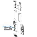 BLUM LEGRABOX Fronthalter Innenauszug mit Reling H C,  Oriongrau