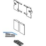 BLUM LEGRABOX Fronthalter Innenschubkasten H M,  Oriongrau-matt