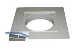 HL037NP.2E PVC-Kragen 185x185mm inkl. O-Ring