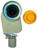 HL134.0/40 WT-EB-Sifon DN40 m. herausziehb Sifoneinsatz