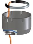 HL156 Heiz-Set inkl. Wärmedämmung zur HL3100T-Balkonablauf-Serie