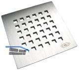 HL3120 Niro-Rost V4A 115x115mm Quadra