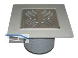 HL37NP Aufs. d 110mm/PVC-Kragen 185x185mm/115x115mm