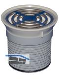 HL38P Klemmaufsatz PVC d 110mm
