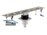 HL50FV.0/100 Duschrinne senkrecht für Flächeneinb., ohne Abdeckung