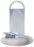 HL517 Plexistandrohr 105x80mm