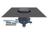 HL540I PRIMUS-DRAIN Duschablauf mit Fliesenmulde