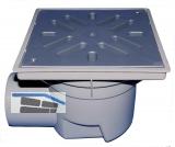 HL605L Perfektabl. DN110 waagr 244x244mm /226x226mm Kst. m. fros