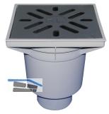 HL606/1 Perfektabl. DN110 senkr 244x244 mm Kst./226x226mm Guss m