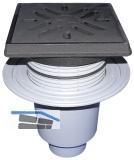 HL616.1/1 Perfektabl. DN110 senkr m. Dic htflansch. 260x260mm/22