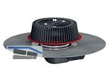 HL64HPowerSafe Power-Not-Dachablauf DN75, Bitumenmaschette