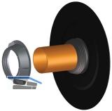 HL800/110 Rohrabdichtung DN110 mit Bitumenmanschette
