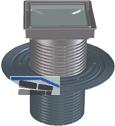 HL85N-3020 Aufst.elem. 80mm/d 110mm m. Dichtflansch u. tiefem Bausch.