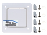 HL905.1V Abdeckung verschraubbar weiß zu HL905
